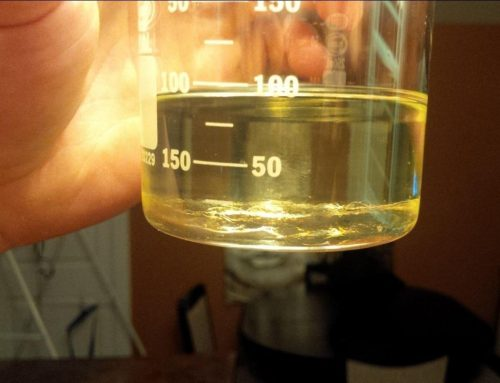 HomeBrew Oil Test Propionate Steroids